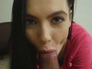 OMG Watch how Marley Brinx fucked that cock