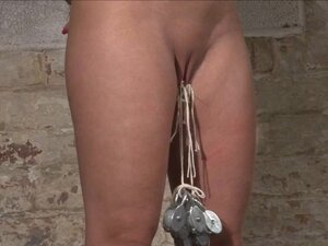 Pussy tortured Melanie Moons busty bdsm and german