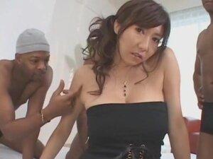Exotic homemade Interracial, Gangbang porn scene,