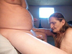 licking husbands ass, and blow job in condom, eat