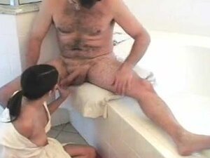 Latina MILF gets fucked silly in the bathroom,