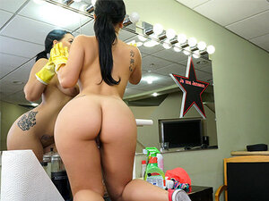 Kimmy Kush in Thick Latina Maid Enjoys First Day -