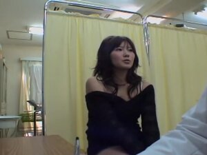 Fuckable Asian babe toyed hard during her Gyno