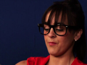 Cfnm mistress judges nerd