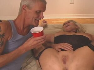 GRANNY has a SWINGERS PARTY with TEEN