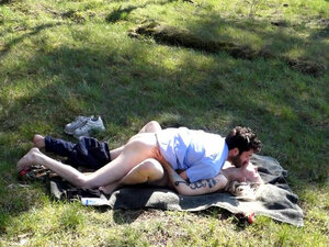 Fan request! Outdoor nude, fucking, pussylicking,