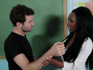 Horny Teacher Gets Pounded In The Classroom