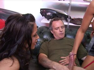 Group Sex With Three Very Busty Girls