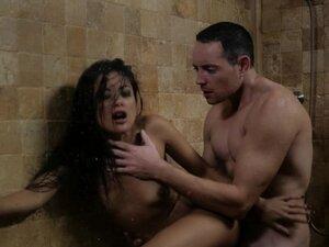 Kaylani has some amazing shower sex