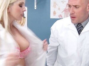 Two blonde med students sluts fuck their teacher