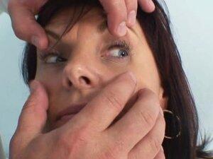 Mature Livie pussy examination by horny gyno