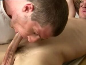 Doctor seduces boy and  of naked men