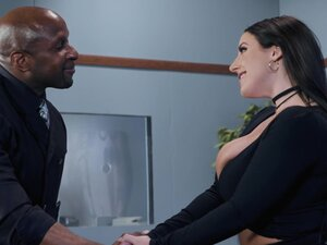 Black man is in need of Angela White's stunning