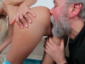 720p - Perverted Older Man Getting a Taste of Teen