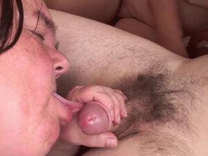 Kinky midgets get fucked by a horny guy