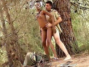 Petite Tribal Babe Bianka Blacka Banging White