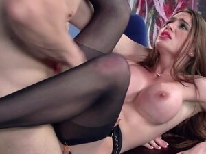Veronica Vain & Erik Everhard in Secretaria en