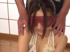 Mayuka Akimoto receives toys on both her hairy