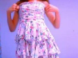 Non Nude summer dress seduction