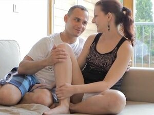 Naughty czech teen lets old man fuck her sweet