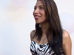 Shy Colombian Girl In Her First Porn Audition,