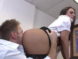 J Love & Levi Cash in Naughty Office