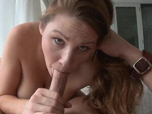 Cheating milf brunette Allison Moore with big firm