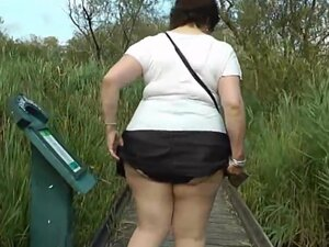 Upskirt in the country park part one, More of my