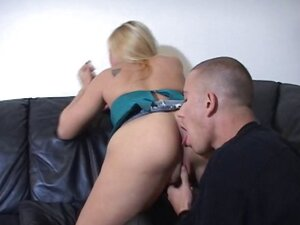 Ass cleaner looks hungry for the mistress' ass