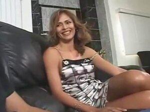 AMWF Latina Monique Fuentes interracial with Asian
