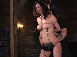 Cherry Torn,The Pope in Bound Slave Cherry Torn