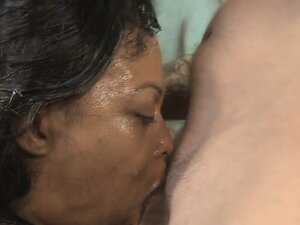 Black Ghetto Whores Gagging And Spitting During