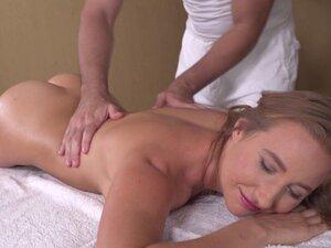 European gets erotic massage