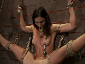 Gymnast, fitness model has her flexibility put to