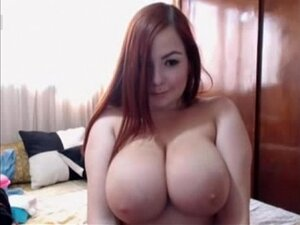 Hot Redhead Girl on Webcam - See more at