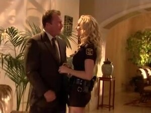 Juila An, breasty police woman acquires screwed,