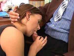 Kinky Randy Teen Sucking and Fucking an Old Man's