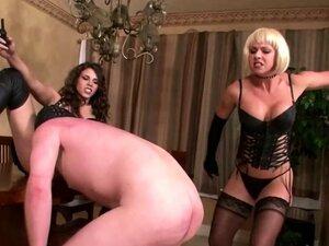 Mistresses Punish Slave