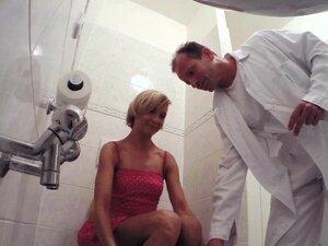 FakeHospital Slim blonde gets creampied after