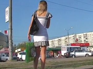 Lace candid strap upskirt movie scene, I was able