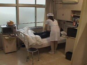 Jap naughty nurse gets crammed by her elderly