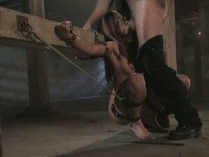 BOndage belts were so useful to bend over Satine -