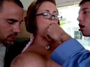 So this time we have busty Katie Kox and she is