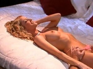 Golden-haired beauty Jessica D enjoys a big dick