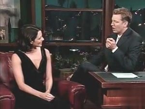 Asia Argento in Late Late Show With Craig Kilborn