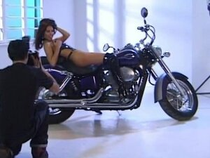 Anetta Keys  Sex on a motorcycle