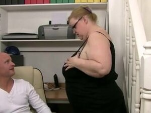 big beautiful woman older takes boy-friend