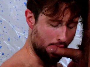 NASTYDADDY Bearded Hunk Jake Morgan Barebacks Drew