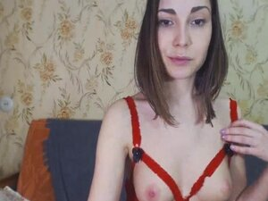 Gorgeous Chick Plays her Tight Pussy, Watch this