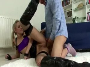Old guy and younger slut